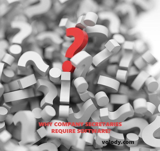 WHY COMPANY SECRETARIES REQUIRE SOFTWARE?